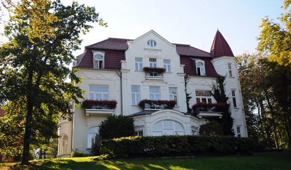Strandvilla in Heringsdorf